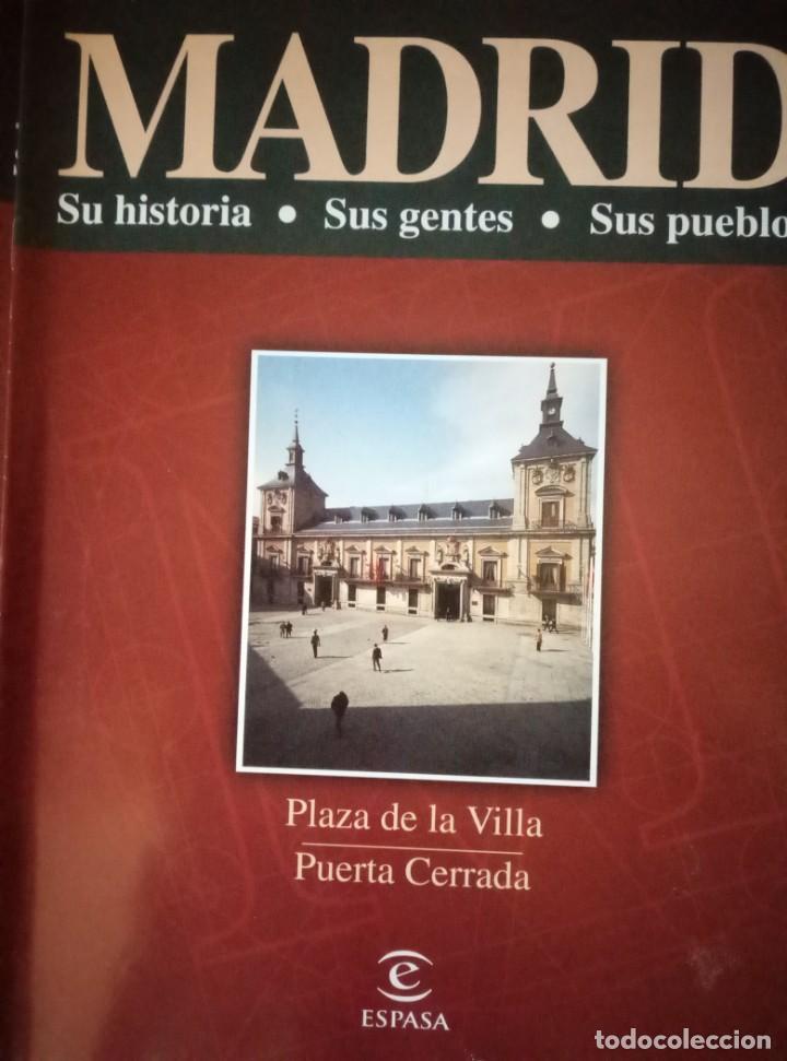 Coleccionismo de Revista Blanco y Negro: Pastas Madrid Ayer y Hoy. Primeros fascículos Madrid Su historia sus gentes Espasa - Foto 8 - 144824970