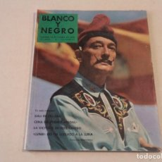 Coleccionismo de Revista Blanco y Negro: BLANCO Y NEGRO Nº 2436 - DALÍ EN PORTADA Y EN 17 PÁGINAS INTERIORES. Lote 144977222
