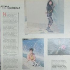 Colecionismo de Revistas Preto e Branco: RECORTE BLANCO Y NEGRO 3673 1989 ALASKA, ALMODOVAR, MARCEDES RODRIGUEZ DE LA FUENTE..... Lote 145428126