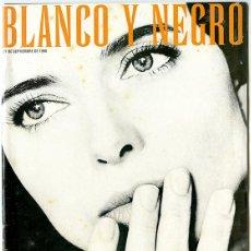 Coleccionismo de Revista Blanco y Negro: BLANCO Y NEGRO. 27 SEPTIEMBRE 1998. 98 PP. ISABELLA ROSSELLINI ÁNGEL DE MEDIANOCHE. Lote 146110174