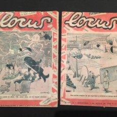 Coleccionismo de Revista Blanco y Negro: REVISTA LOCUS 1956. Lote 147859354