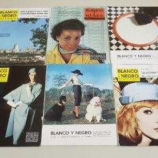 Collectionnisme de Magazine Blanco y Negro: 119- LOTE REVISTAS BLANCO Y NEGRO AÑOS 50-60 PUBLICIDAD BRANDYS,OMEGA.... LOTE 3. Lote 148177154