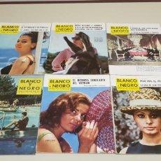 Collectionnisme de Magazine Blanco y Negro: 119- LOTE REVISTAS BLANCO Y NEGRO AÑOS 50-60 PUBLICIDAD BRANDYS,OMEGA.... LOTE 5. Lote 148177290
