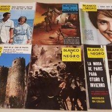 Coleccionismo de Revista Blanco y Negro: 119- LOTE REVISTAS BLANCO Y NEGRO AÑOS 50-60 PUBLICIDAD BRANDYS,OMEGA.... LOTE 7. Lote 148178450