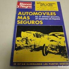 Coleccionismo de Revista Blanco y Negro: 219- AUTOMÓVILES MÁS SEGUROS - REVISTA BLANCO Y NEGRO - AGOSTO 1972. Lote 149717394