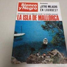 Coleccionismo de Revista Blanco y Negro: 219- LA ISLA DE MALLORCA - REVISTA BLANCO Y NEGRO - AGOSTO 1966. Lote 149728414