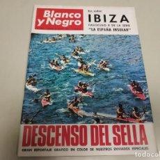 Coleccionismo de Revista Blanco y Negro: 219- DESCENSO DEL SELLA - REVISTA BLANCO Y NEGRO - AGOSTO 1966. Lote 149728690