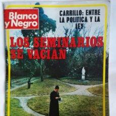 Coleccionismo de Revista Blanco y Negro: REVISTA BLANCO Y NEGRO CARRILLO LOS SEMINARIOS. Lote 149729830