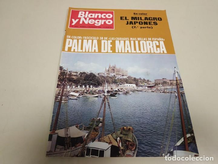 219- PALMA DE MALLORCA - REVISTA BLANCO Y NEGRO - DICIEMBRE 1968 (Coleccionismo - Revistas y Periódicos Modernos (a partir de 1.940) - Blanco y Negro)