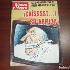 Coleccionismo de Revista Blanco y Negro: REVISTA BLANCO NEGRO AÑO 1976 Nº 3336 -ENTREVISTAS FRANCISCO UMBRAL Y MANUEL JIMENEZ DE PARGA. Lote 149741730
