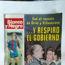 Coleccionismo de Revista Blanco y Negro: REVISTA BLANCO Y NEGRO CRUYFF 1977. Lote 149749857