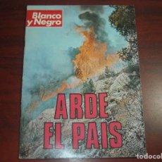 Collezionismo di Rivista Blanco y Negro: REVISTA BLANCO NEGRO AÑO 1976 Nº 3355 -ENTREVISTAS NADIUSKA Y JOSE LUIS ARANGUREN. Lote 149750498