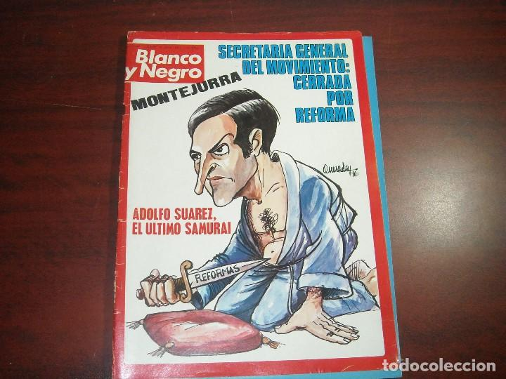 REVISTA BLANCO NEGRO AÑO 1976 Nº 3341 -ENTREVISTAS ABAD SANTILLAN Y DIDI SHERMANN (Coleccionismo - Revistas y Periódicos Modernos (a partir de 1.940) - Blanco y Negro)