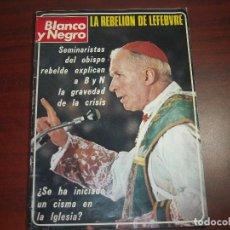 Coleccionismo de Revista Blanco y Negro: REVISTA BLANCO NEGRO AÑO 1976 Nº 3358 - ENTREVISTAS AFRICA PRAT Y ENRIC MOLTO. Lote 149754746