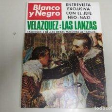 Coleccionismo de Revista Blanco y Negro: 219- VELÁZQUEZ: LAS LANZAS- REVISTA BLANCO Y NEGRO- DICIEMBRE 1966. Lote 149955258