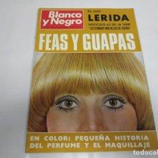 Coleccionismo de Revista Blanco y Negro: 219- FEAS Y GUAPAS- REVISTA BLANCO Y NEGRO- SEPTIEMBRE 1970. Lote 150095558