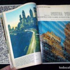 Coleccionismo de Revista Blanco y Negro: LAS CIUDADES MAS BELLAS DEL MUNDO. TOMO CON 12 FASCÍCULOS. SEPARATAS REVISTA BLANCO Y NEGRO 1966. Lote 151075266