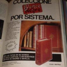Coleccionismo de Revista Blanco y Negro: REVISTAS BLANCO Y NEGRO 1988 A 1993. Lote 151227358