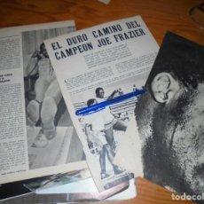 Coleccionismo de Revista Blanco y Negro: RECORTE PRENSA : EL DURO CAMINO DEL CAMPEON JOE FRAZIER BLANCO NEGRO, MARZO 1971. Lote 152123598