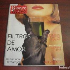 Coleccionismo de Revista Blanco y Negro: REVISTA BLANCO NEGRO AÑO 1989 Nº 3633- ENTREVISTA VARGAS LLOSA- ARANTXA ARGUELLES- LIZ TAYLOR. Lote 152153466