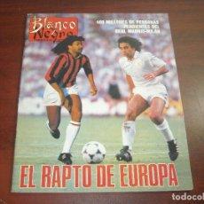 Coleccionismo de Revista Blanco y Negro: REVISTA BLANCO NEGRO AÑO 1989 Nº 3640- ENTREVISTA DUSTIN HOFFMAN- ANA ALVAREZ-KIKO VENENO. Lote 152154622