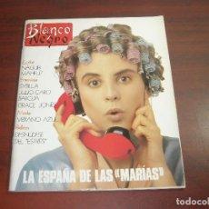 Coleccionismo de Revista Blanco y Negro: REVISTA BLANCO NEGRO AÑO 1989 Nº 3653- ENTREVISTA SYBILLA- VERONICA FORQUE-GRACE JONES. Lote 152155850