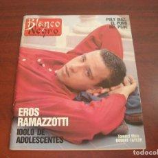 Coleccionismo de Revista Blanco y Negro: REVISTA BLANCO NEGRO AÑO 1989 Nº 3630- JULIO IGLESIAS- POLI DIAZ-LOYOLA DE PALACIO. Lote 152158130