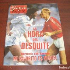 Coleccionismo de Revista Blanco y Negro: REVISTA BLANCO NEGRO AÑO 1989 Nº 3635- EN CASA JUAN MARIA ARZAK- MICHELLE PFEIFFER. Lote 152158702