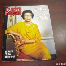 Coleccionismo de Revista Blanco y Negro: REVISTA BLANCO NEGRO AÑO 1988 Nº 3616- ISABEL II EN ESPAÑA - JOSE LUIS GOMEZ- LUCIO SANDIN. Lote 152195310