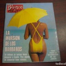 Coleccionismo de Revista Blanco y Negro: REVISTA BLANCO NEGRO AÑO 1988 Nº 3607- MARTA SANCHEZ- RAFI CAMINO- REMEDIOS CERVANTES. Lote 152195590