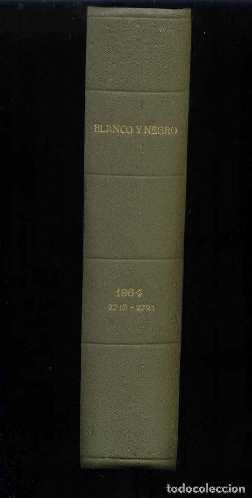 BLANCO Y NEGRO TOMO 1964 9 NºS 2713-2721 (Coleccionismo - Revistas y Periódicos Modernos (a partir de 1.940) - Blanco y Negro)