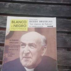 Coleccionismo de Revista Blanco y Negro: REVISTA BLANCO Y NEGRO DICIEMBRE 1960. Lote 152804361