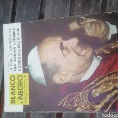 Coleccionismo de Revista Blanco y Negro: REVISTA BLANCO Y NEGRO 4 ENERO 1964. Lote 152804846
