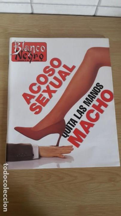 BLANCO Y NEGRO SEMANARIO ABC Nº 3779 ACOSO SEXUAL QUITA LAS MANOS MACHO (Coleccionismo - Revistas y Periódicos Modernos (a partir de 1.940) - Blanco y Negro)