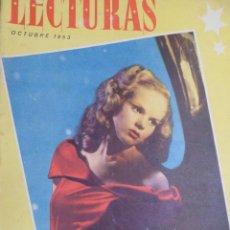 Coleccionismo de Revista Blanco y Negro: REVISTA LECTURAS AÑO XXXI - Nº 348 OCTUBRE 1953.. Lote 155773278
