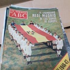 Coleccionismo de Revista Blanco y Negro: ABC REAL MADRID. Lote 156922093
