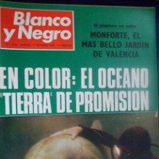 Coleccionismo de Revista Blanco y Negro: REVISTA BLANCO Y NEGRO. Nº 2946 MONFORTE. EL OCÉANO TIERRA DE PROMISIÓN. Lote 157215694