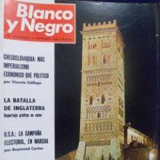 Coleccionismo de Revista Blanco y Negro: REVISTA BLANCO Y NEGRO. Nº 2941 - 1968 CHECOSLOVAQUIA. BATALLA INGLATERRA. TERUEL. . Lote 157218366