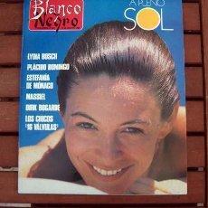 Coleccionismo de Revista Blanco y Negro: BLANCO Y NEGRO / LYDIA BOSCH, PLACIDO DOMINGO, MASSIEL, LOS CHUNGUITOS, DIRK BOGARDE, MARG HELGENBER. Lote 157286390