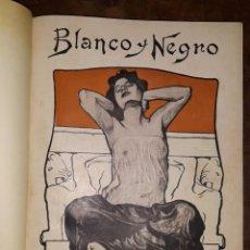 Coleccionismo de Revista Blanco y Negro: RECOPILATORIO REVISTA BLANCO Y NEGRO 1901 - 1902. Lote 158220366