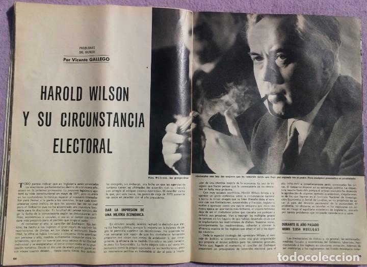 Coleccionismo de Revista Blanco y Negro: Revista Blanco y Negro, N. 3011, 17 Enero 1970 /// CAMBIO 16 INTERVIÚ TP PRONTO LECTURAS EL SEMANAL - Foto 12 - 158415118