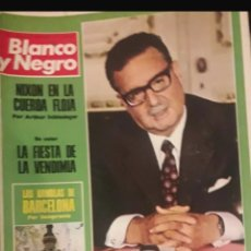 Coleccionismo de Revista Blanco y Negro: REVISTA BLANCO Y NEGRO 1973. Lote 158741514
