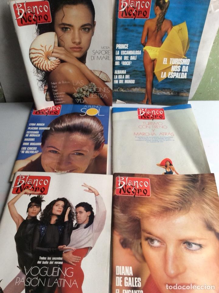 BLANCO Y NEGRO - AÑO 1990 , LOTE 6 EJEMPLARES (Coleccionismo - Revistas y Periódicos Modernos (a partir de 1.940) - Blanco y Negro)