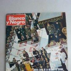 Coleccionismo de Revista Blanco y Negro: REVISTA BLANCO Y NEGRO Nº 3317 HACIA LA CONCORDIA NACIONAL, 29-11-1975. Lote 159212838