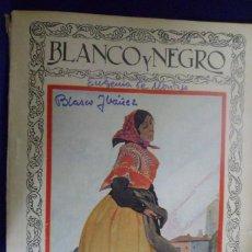 Collectionnisme de Magazine Blanco y Negro: REVISTA BLANCO Y NEGRO N. 1916 - 8 DE FEBRERO DE 1928. Lote 159612562