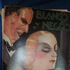 Coleccionismo de Revista Blanco y Negro: REVISTA BLANCO Y NEGRO N. 2177 - 5 DE MARZO DE 1933. Lote 159612970