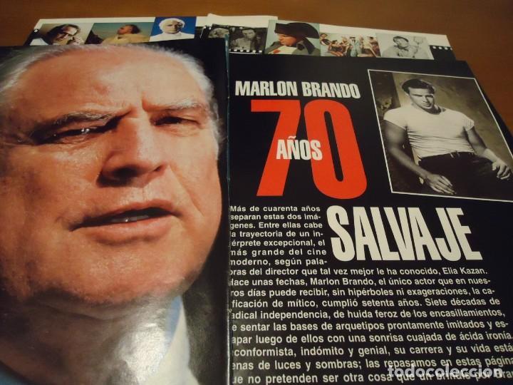 RECORTE REPORTAJE REVISTA BLANCO Y NEGRO AÑO 1994 (Coleccionismo - Revistas y Periódicos Modernos (a partir de 1.940) - Blanco y Negro)