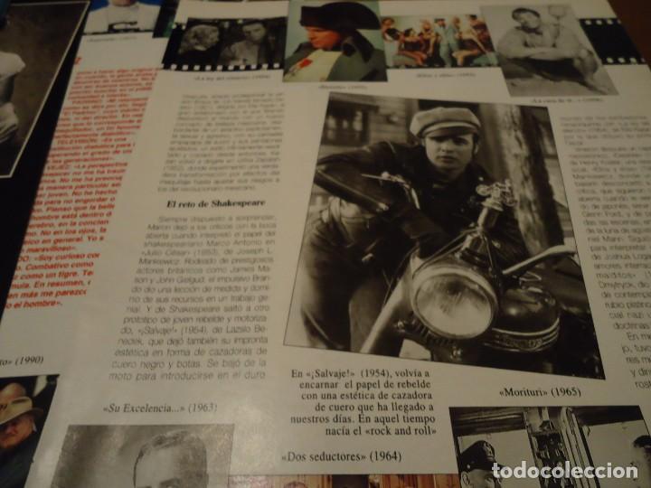 Coleccionismo de Revista Blanco y Negro: Recorte reportaje revista Blanco y negro año 1994 - Foto 2 - 160919090