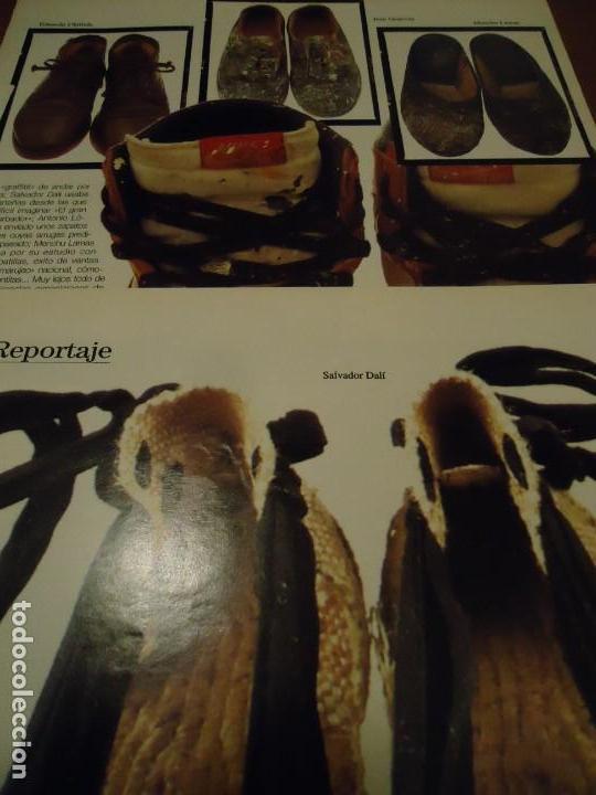 Coleccionismo de Revista Blanco y Negro: Recorte reportaje revista Blanco y negro año 1994 tras las huellas del arte. Miro, Salvador Dalí, Ch - Foto 3 - 160919378