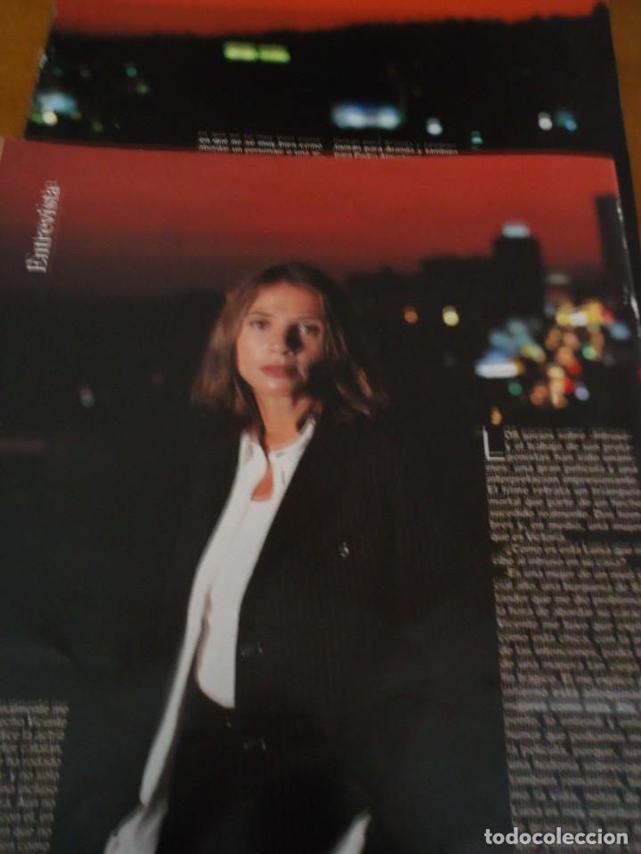 RECORTE REVISTA BLANCO Y NEGRO AÑO 1993 ENTREVISTA A VICTORIA ABRIL (Coleccionismo - Revistas y Periódicos Modernos (a partir de 1.940) - Blanco y Negro)